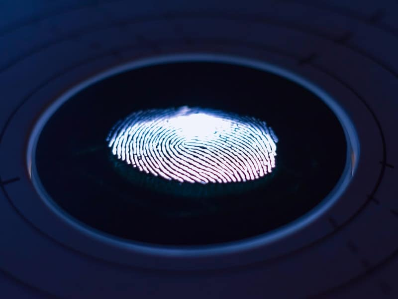 BIPA Blog Post - Photo of fingerprint on digital surface